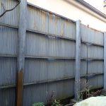 足立区工務店 トタンのフェンスを撤去