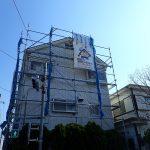 足立区工務店 破風板金の補修・交換や雨樋交換、一部塗装工事を予定しております。