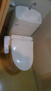 足立区節水型トイレ設置助成金を利用してトイレを交換しました。
