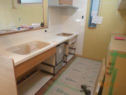 【注文住宅】キッチン取付工事