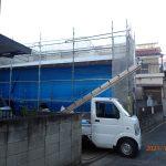 足立区足立平屋建て新築工事。